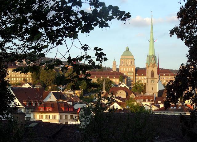 Views Lindenhof Hill Zurich