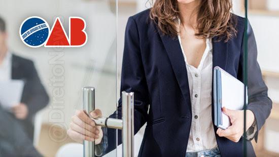oab solicita advogadas revistadas agentes mulheres