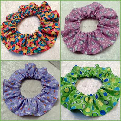 Spring Scrunchie Ruffles