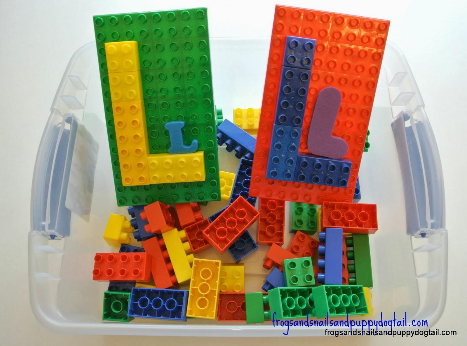 alphabet activities, letter l