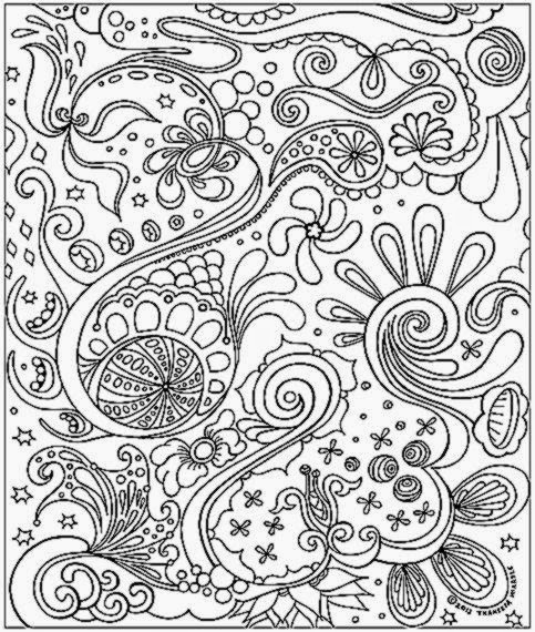 detailed abstract coloring pages   Mandala Coloring Pages For Adults Printable – Colorings.net
