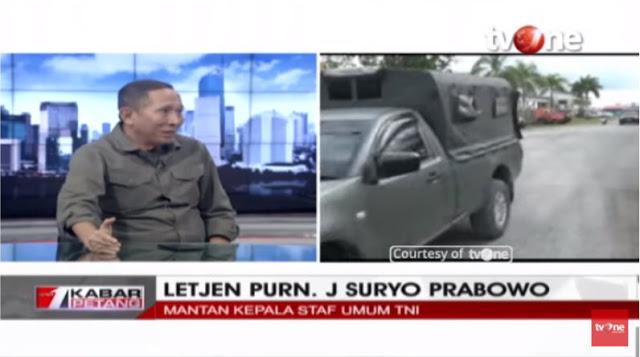 Suryo Prabowo Angkat Suara soal Insiden yang Terjadi di Papua