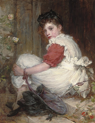 On the Threshold, Marie Seymour Lucas