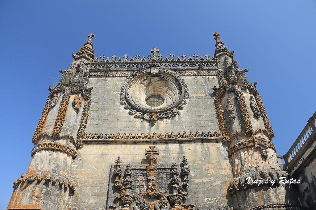 Convento de Tomar, óculo de la iglesia