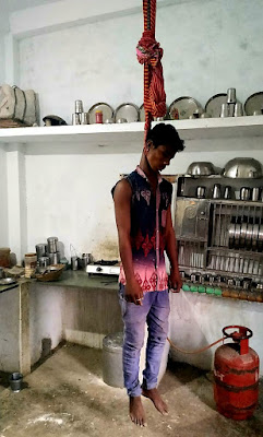 15 वर्षिय युवक ने लगाई फांसी कारण अज्ञात | 15 Varshiy Yuvak Ne Lagai Fansi Karan Agyat