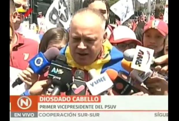Diosdado Cabello: Así nos sentemos en esa mesa no vamos a renunciar