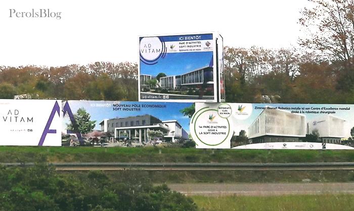 Parc Industrie Or Méditerranée à Fréjorgues