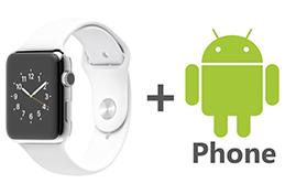 Impossible d'associer la montre intelligente Apple à votre téléphone Android