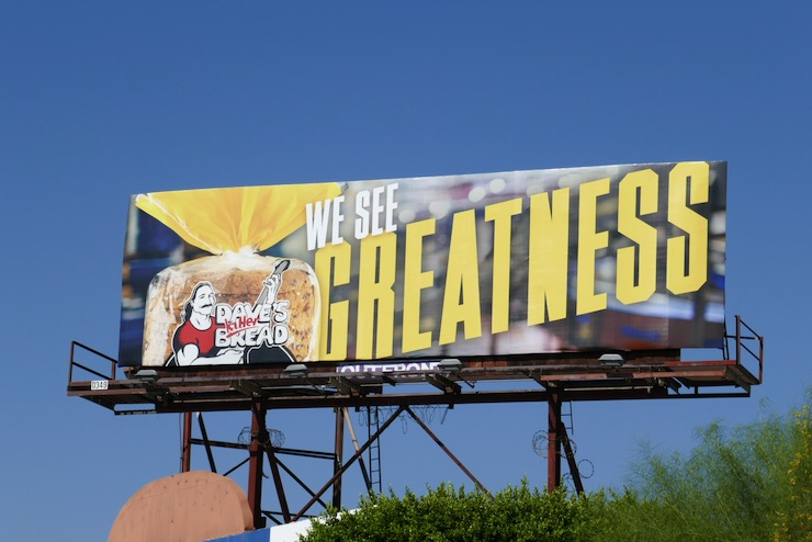 Daves Killer Bread We See Greatness billboard