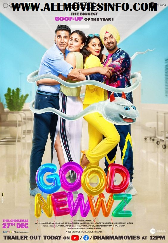 Good Newwz Movie Review, Cast, Budget & Box Office Collection