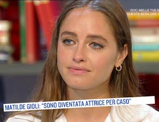 Matilde Gioli oggi è un altro giorno