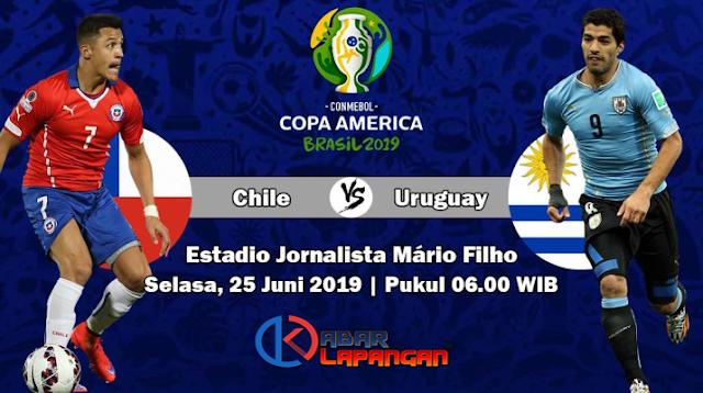 Prediksi Bola Chile vs Uruguay Copa America 2019