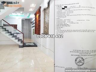 Bán nhà quận 12 hẻm Nguyễn Thị Kiều phường Tân Thới Hiệp - 4,2x13m đúc 2 lầu giá 3.65 tỷ (MS 079)