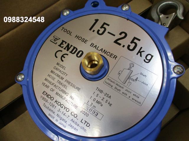 Pa lăng cân bằng Endo THB-25A, tải trọng: 1.5-2.5kg