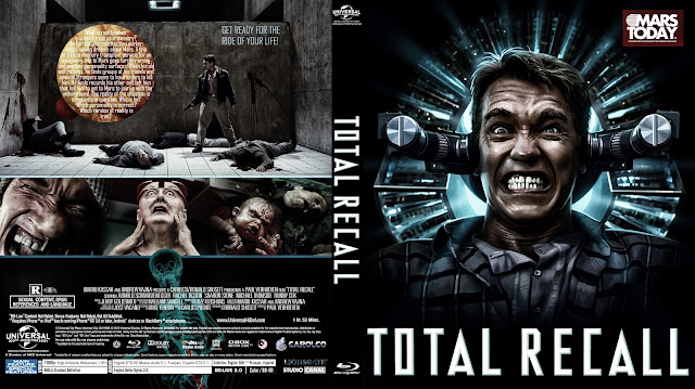 Total Recall (1990) Bluray Cover