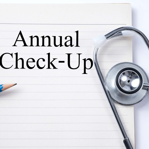 Get your annual check ups