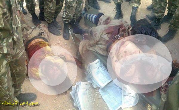 القضاء على إرهابيين بين حدود ولايتي  تيبازة والشلف