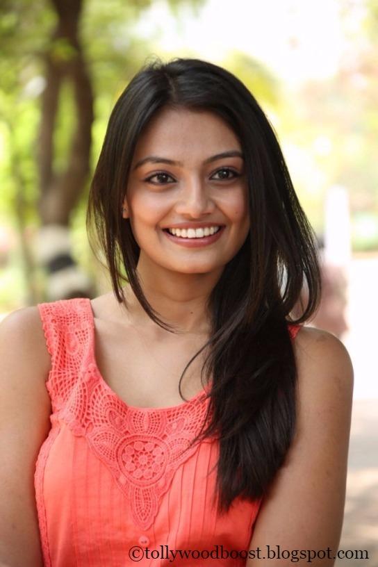 Nikitha Narayan Latest Cute Photo Shoot In Pin Dress