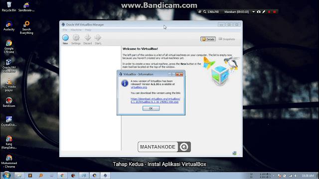 Tutorial Install VirtualBox dan Penjelasan di Windows + Video