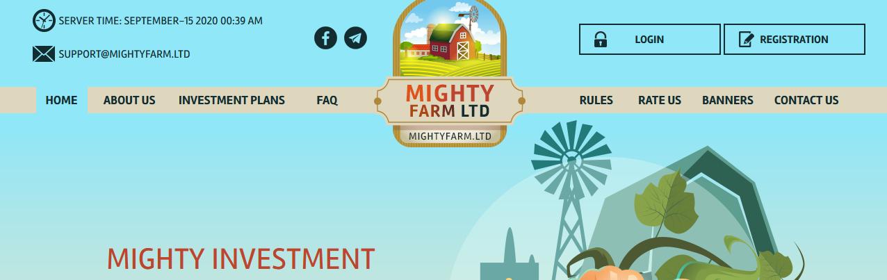 Мошеннический сайт mightyfarm.ltd – Отзывы, развод, платит или лохотрон? Информация