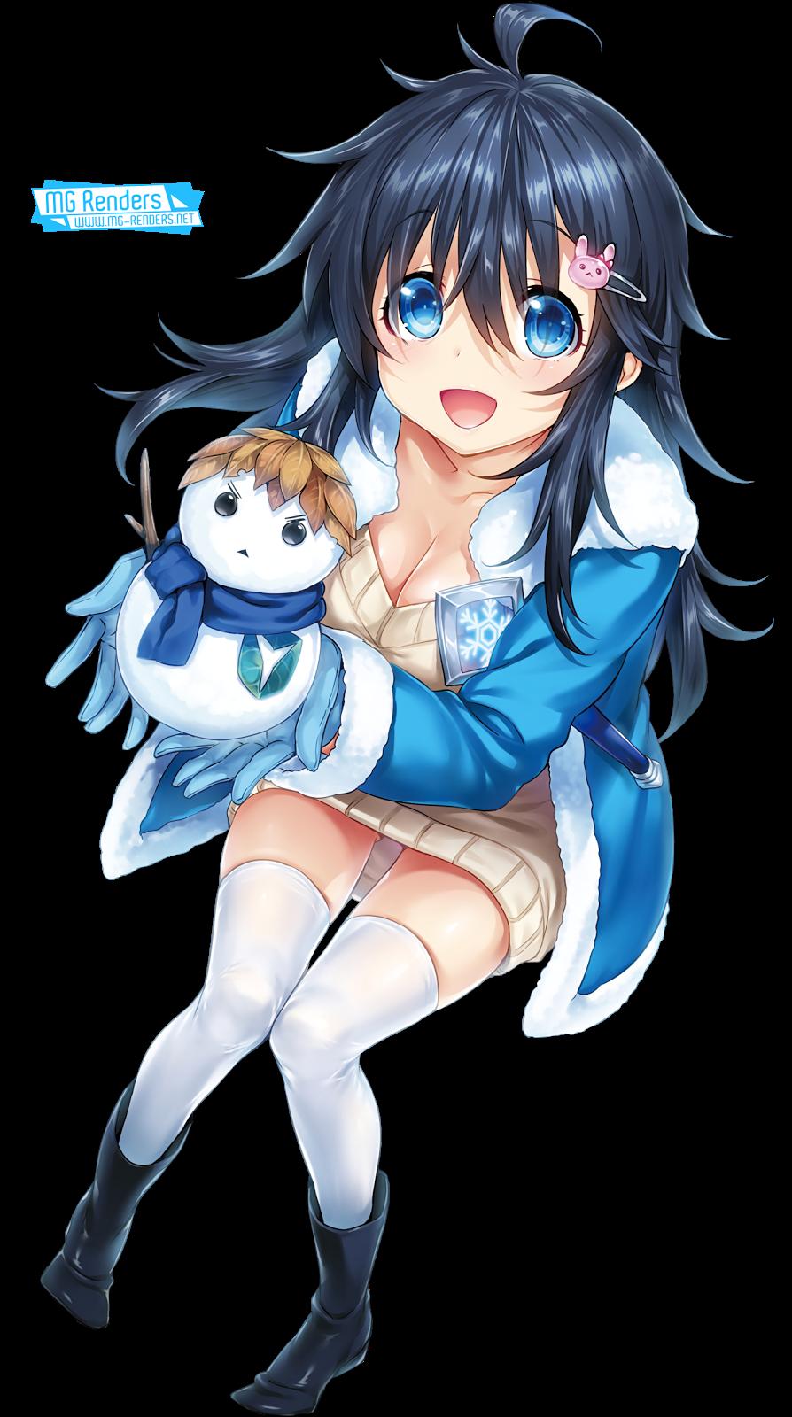 Tags: Anime, Render,  Hisasi,  Netoge no Yome wa Onnanoko ja Nai to Omotta,  Sweater,  Tamaki Ako,  PNG, Image, Picture