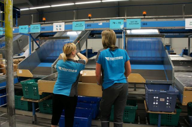 العمل لدى شركة هرميس في المانيا | Hermes Jobs