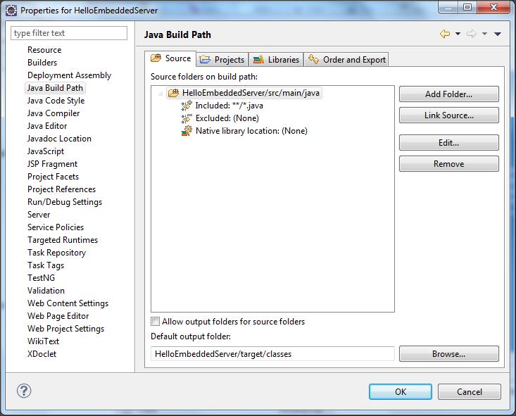 Sunil's Notes: Using Embedded Jetty server