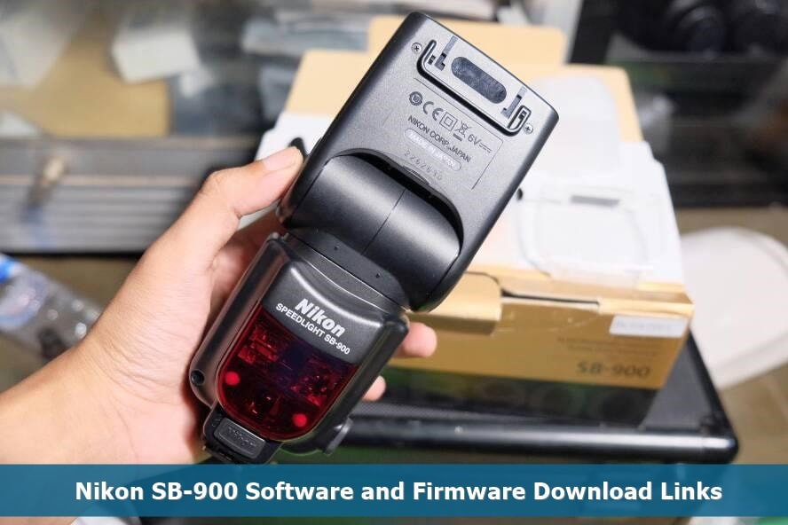 Updating firmware on nikon sb 900