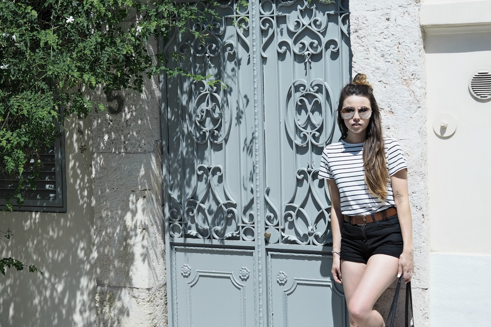 back streets of athens, copper garden, summer outfit posts europe