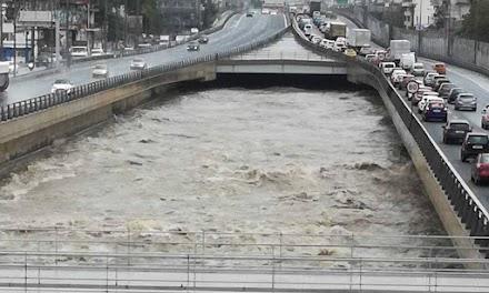 Λέκκας : Στον Κηφισό έπεσαν την Πέμπτη 30 εκατ. τόνοι νερού!