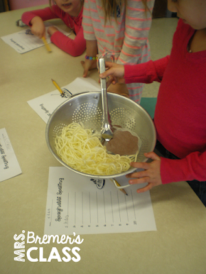 Spaghetti spelling- a fun way to practice sight words!