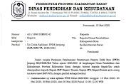 Link Dan Jadwal Ujicoba Online Penerimaan Peserta Didik Baru (PPDB) Di Kalimantan Barat