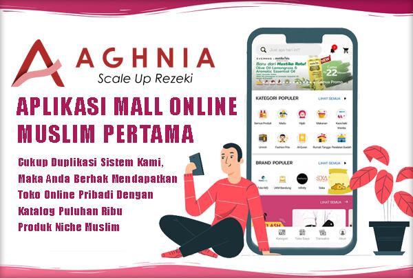 AGHNIA - Aplikasi Mall Online Muslim