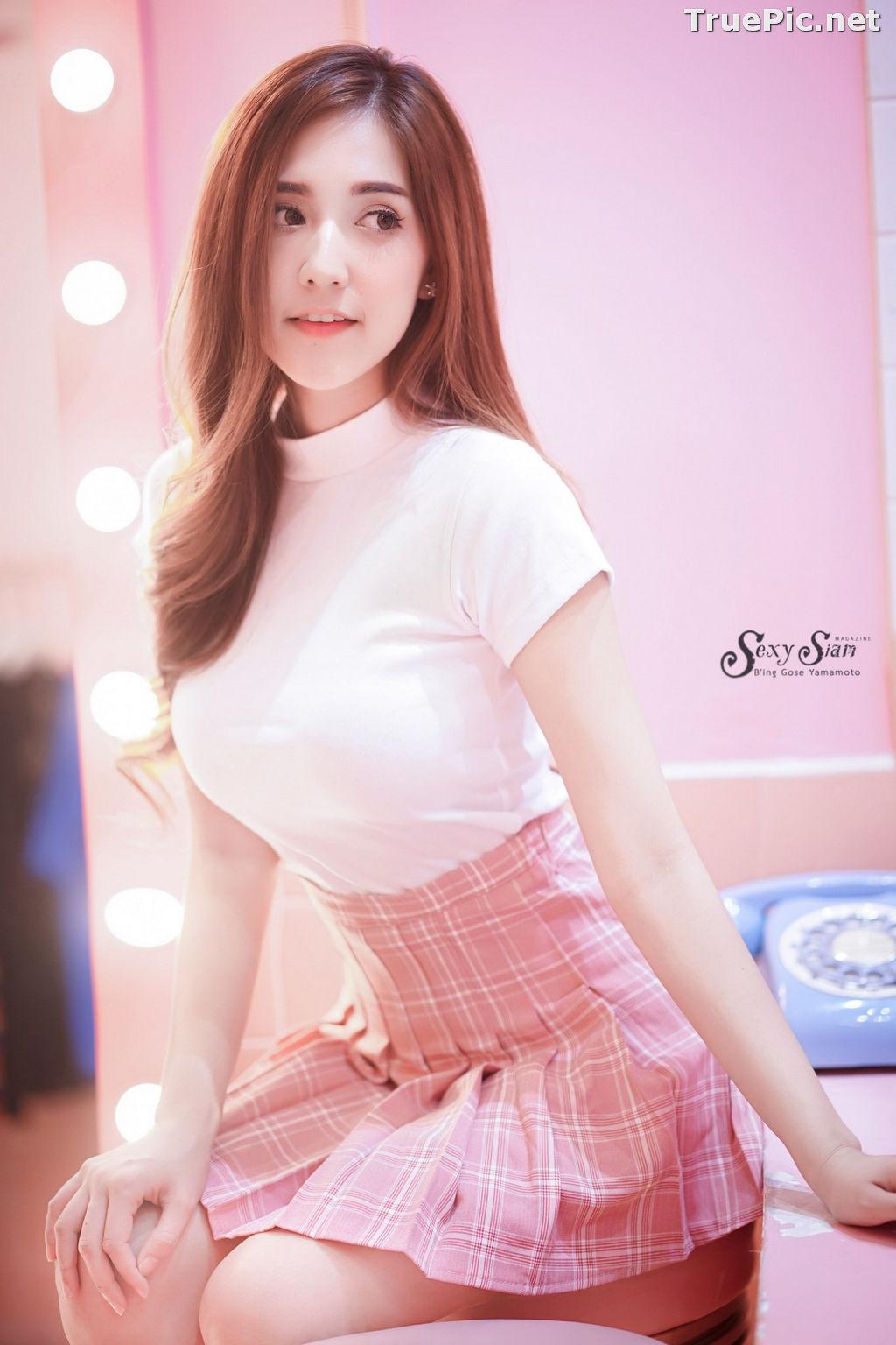 Image Thailand Model - Jarunya Boonya - Pink Love Love Love - TruePic.net - Picture-4