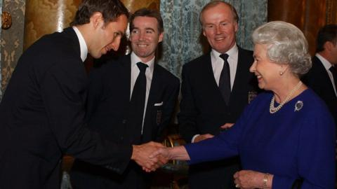 The Queen recalls 1966 as she wishes the England team luck in Euro 2020.