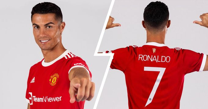 Ronaldo's no.7 shirt sales generate £32.5m within 12 hours of launch