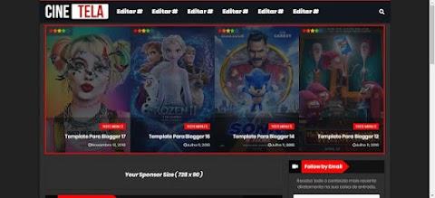 Cine Tela Template Para Blogger de Filmes Ou Series Online