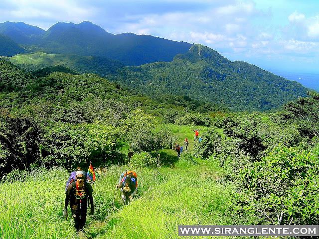 summit of Mt. Manabu