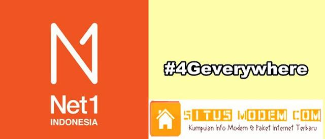 Jaringan 4G LTE Resmi di Launching, Nama Brand Ceria Ganti Menjadi Net1 Indonesia