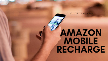 Amazon Mobile Recharge promo code, Coupons, Offers