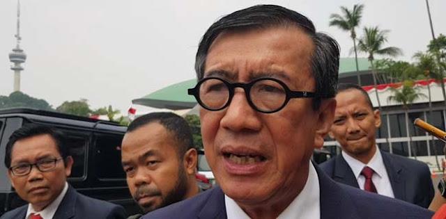 Jokowi Singgung Penegakan Hukum Dan HAM, Begini Tanggapan Yasonna