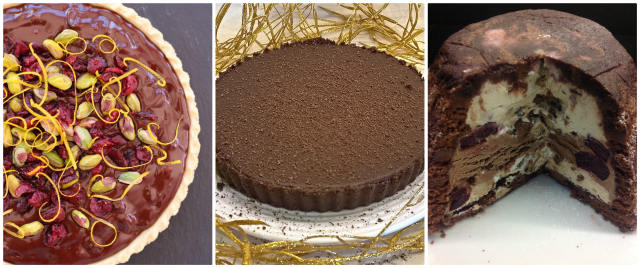 Alternative Christmas Desserts - chocolate desserts