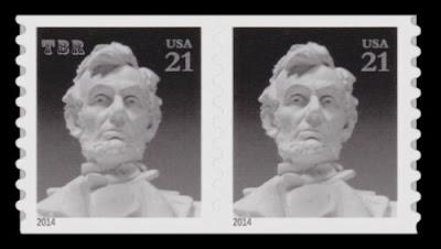 Abraham Lincoln 21c Coil Pair Lincoln Memorial