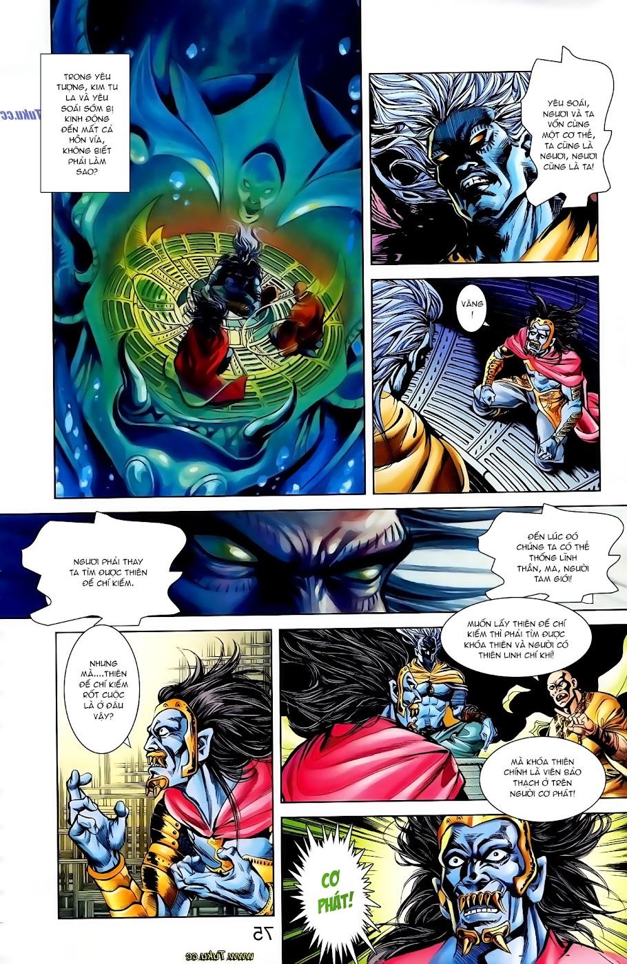 Cơ Phát Khai Chu Bản chapter 108 trang 10