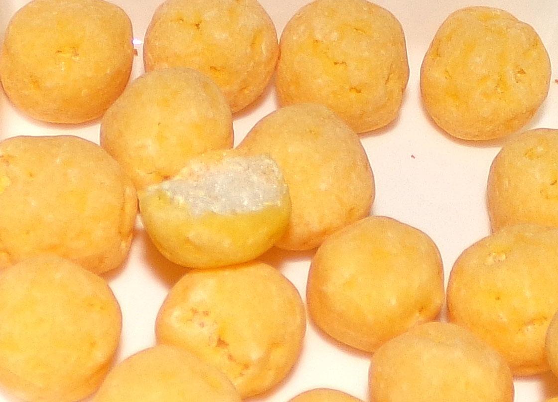 Japanese Snack Reviews: Bourbon Horo Buono (Cheese Balls)