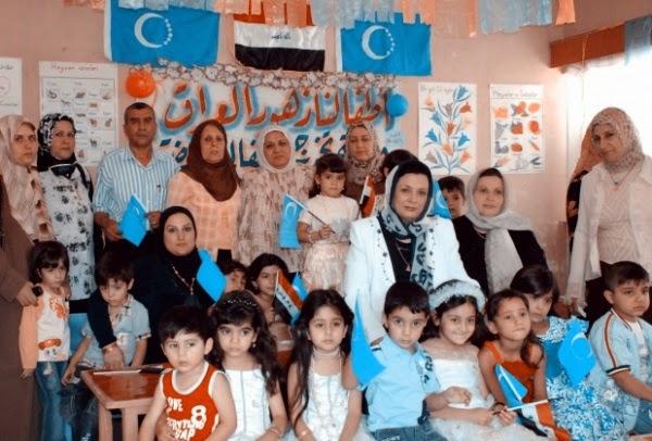 В туркменской школе на севере Ирака (фото: Al Jazeera)