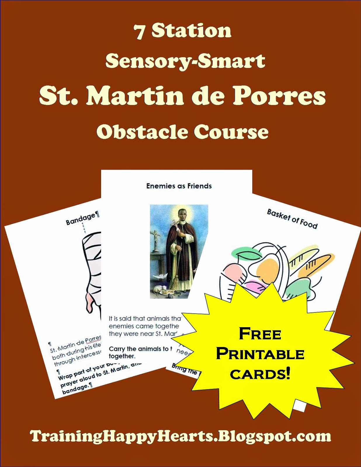 Training Happy Hearts Celebrate St Martin De Porres