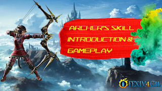 Final Fantasy XIV Guide | Archer's Skill introduction & Gameplay