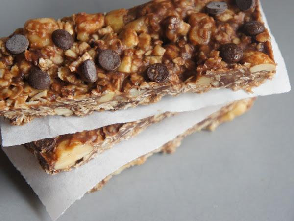 REZEPT: glutenfreie Müsliriegel selber machen