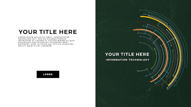 Technical Title and Background Free PowerPoint Template Slide 7